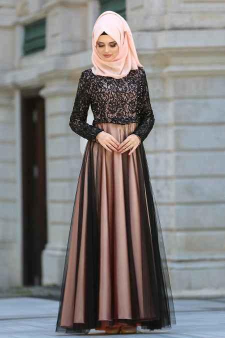 En Güzel Tesettür Abiye Elbise Modelleri