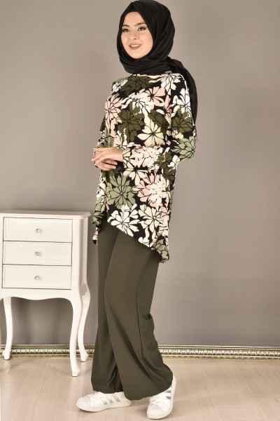 Modamerve Çiçek Desenli Tunik Modelleri