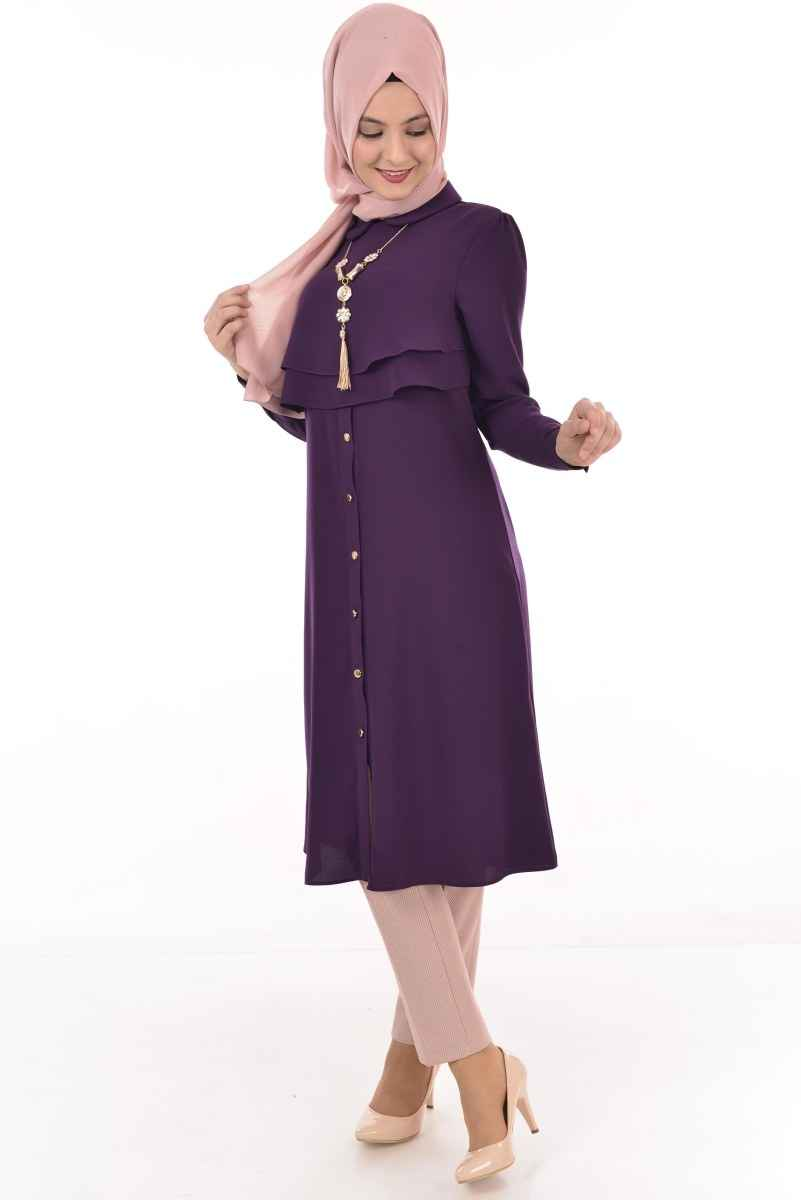 Modamerve Düğmeli Tunik Modelleri