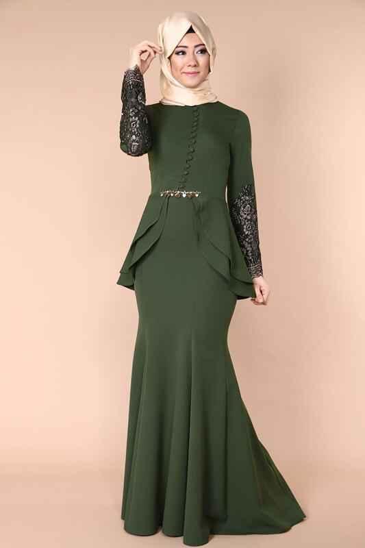 Modaselvim Tesettür Abiye Elbise Modelleri