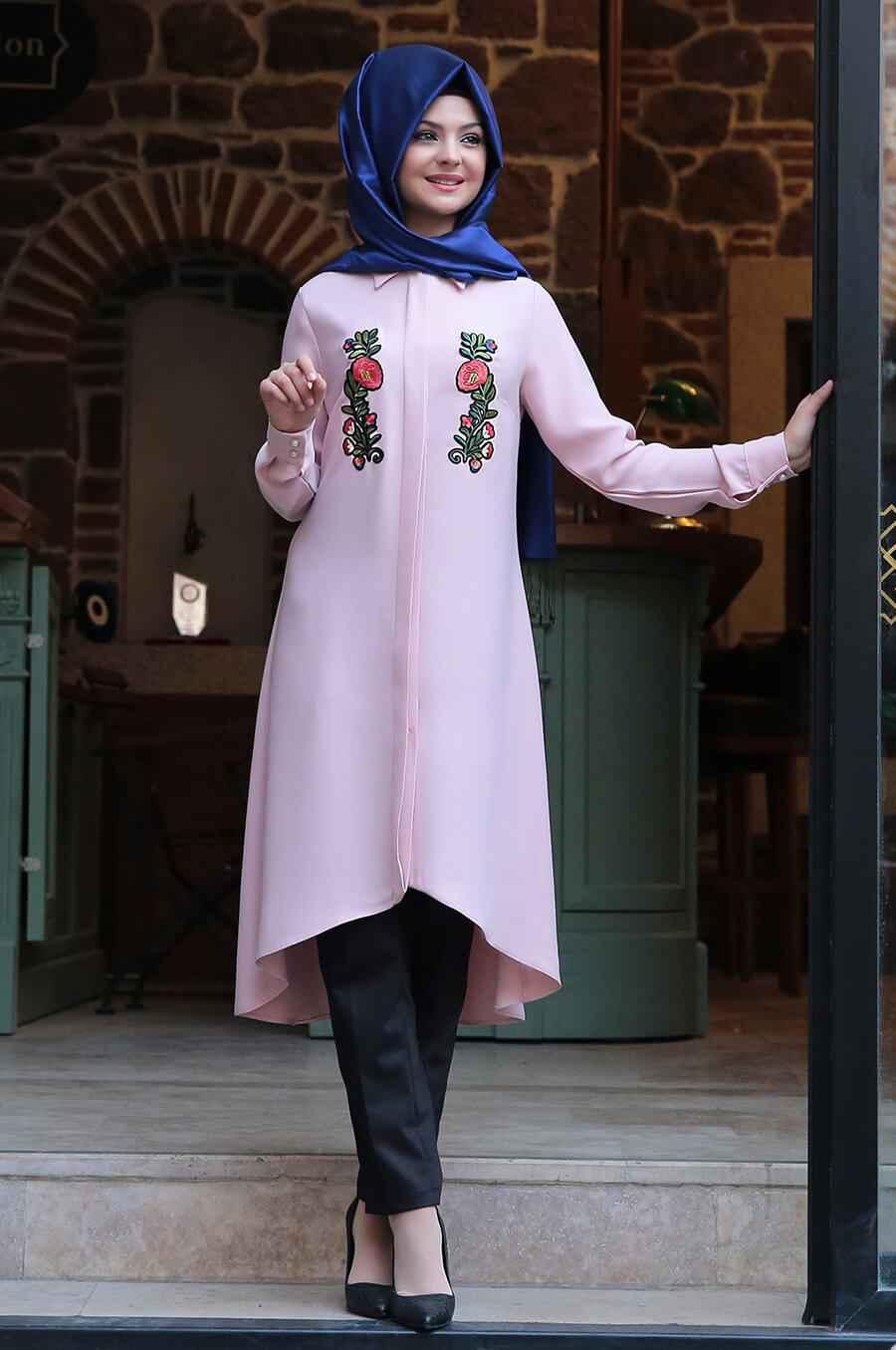 Nakışlı Pınar Şems Tunik Modelleri