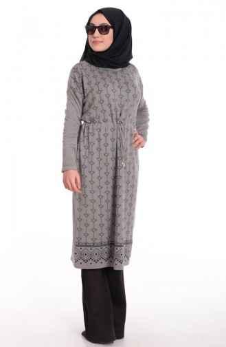 Sefamerve Tesettür Kışlık Triko Tunik Modelleri