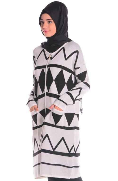 Tesettür Kışlık Tunik Modelleri
