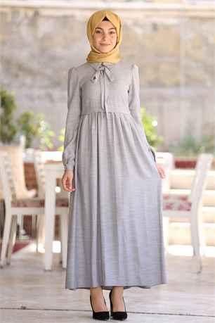 Tesettür Robalı Elbise Modelleri