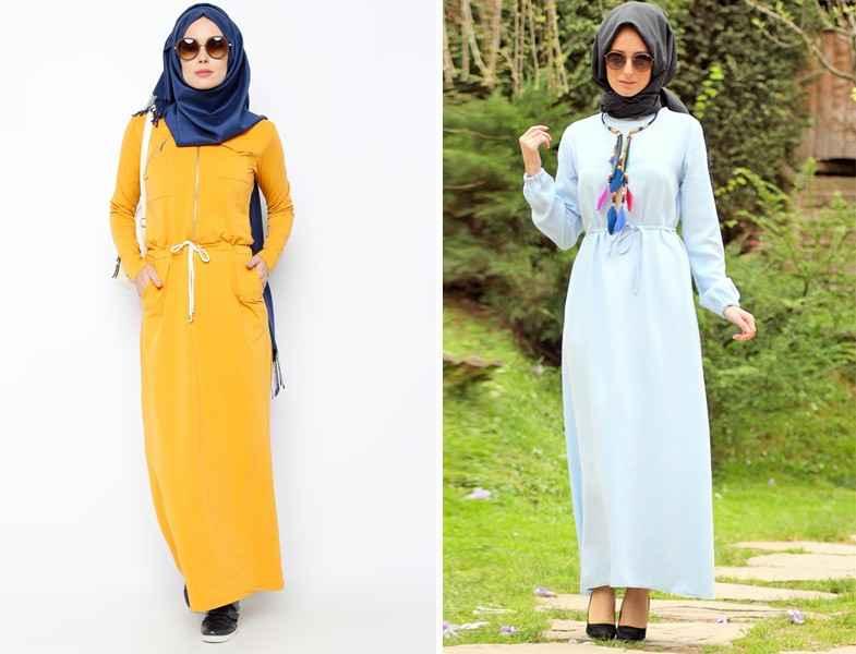 2137f8c1fbdd6 Tesettür Spor Elbise Kombinleri - Moda Tesettür Giyim