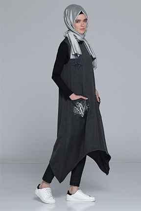 Tozlu Giyim Tesettür Kışlık Tunik Modelleri