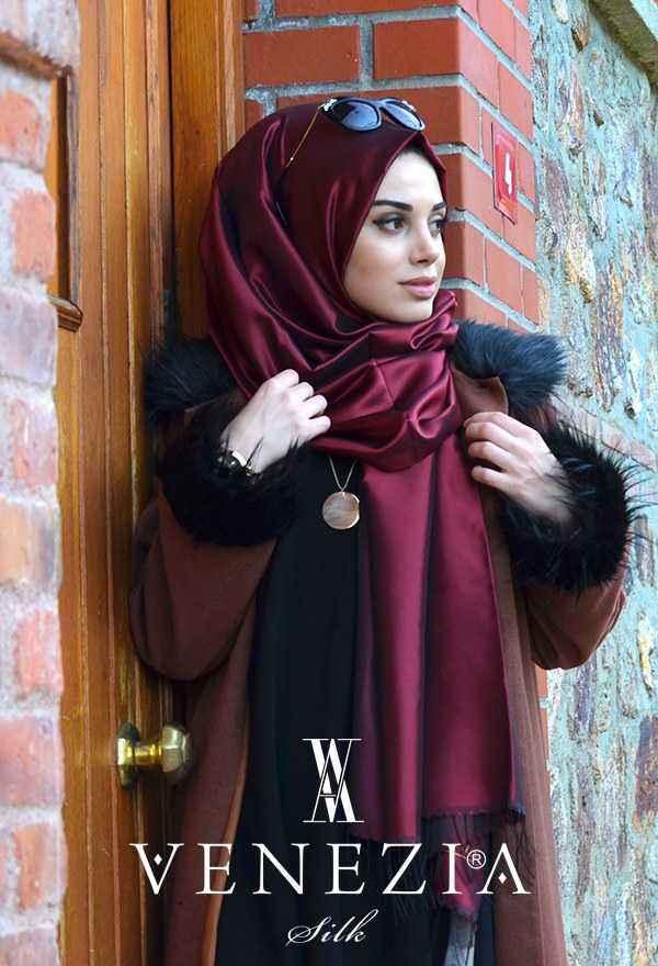 Venezia Silk Tafta Şal Modelleri
