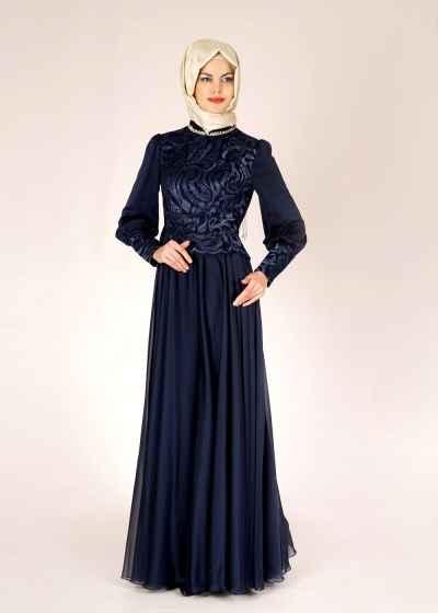 2016 Alvina Tesettür Abiye Elbise Modelleri