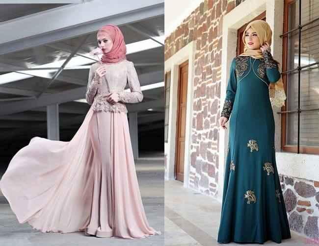 1ea4bd73c951f Alvina Tesettür Şık Abiye Elbise Modelleri - Moda Tesettür Giyim
