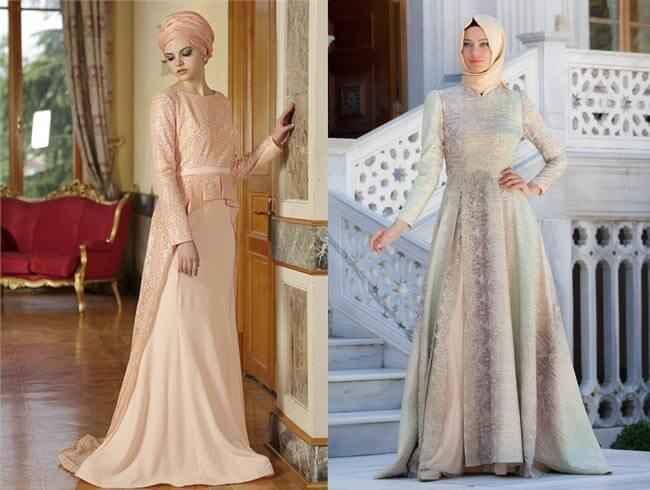 Alvina Tesettür Abiye Elbise Modelleri