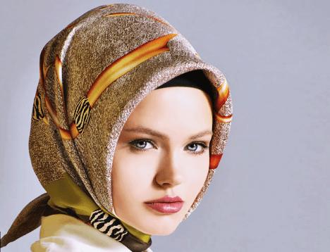 Desenli Şık Kışlık Eşarp Modelleri