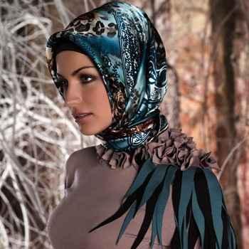 Tesettür Kışlık Şık Eşarp Modelleri