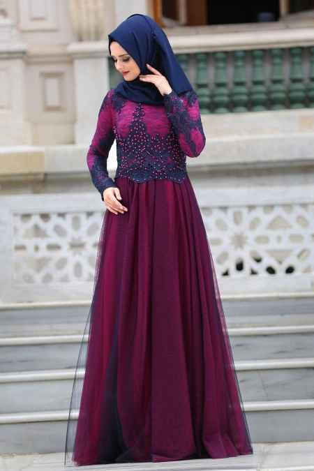 76f558e38a86a Tesettür Tül Abiye Modelleri - Moda Tesettür Giyim