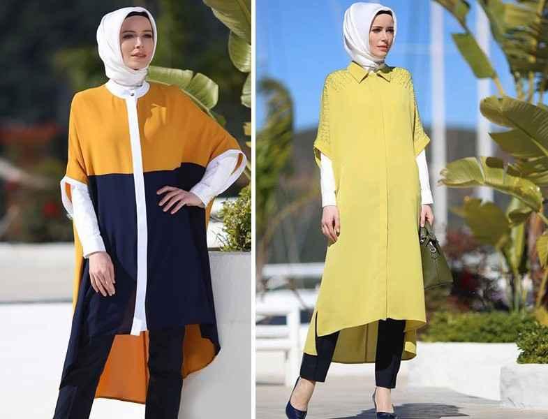 Şık Setrms İkbahar-Yaz Tesettür Tunik Modelleri