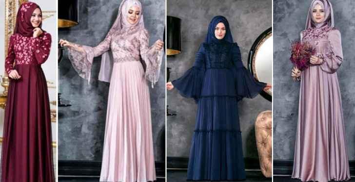 2c77814bad86a 2019 Tesettür Abiye Giyim Modası - Moda Tesettür Giyim