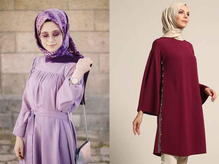 2019 Tesettür Tunik Modası