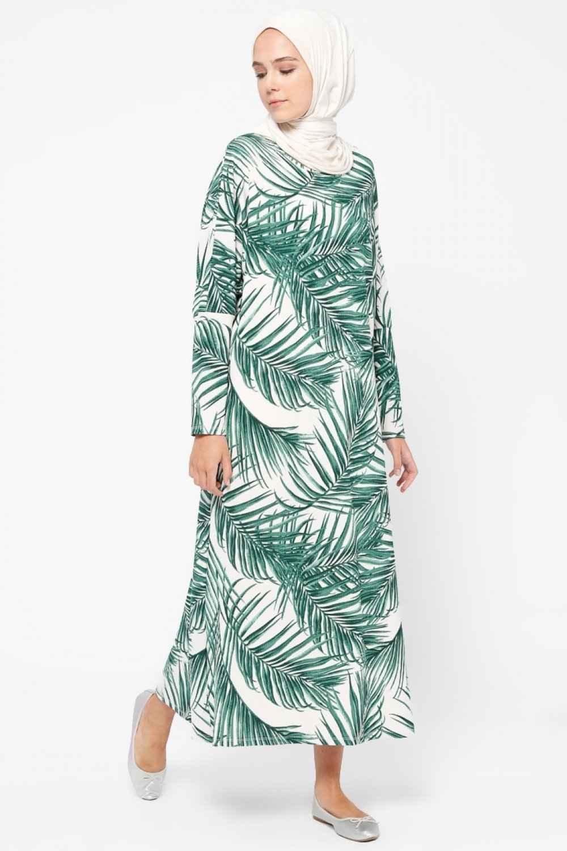 8347f8a6e7d39 Tesettür Salaş Elbise Modelleri | Moda Tesettür Giyim