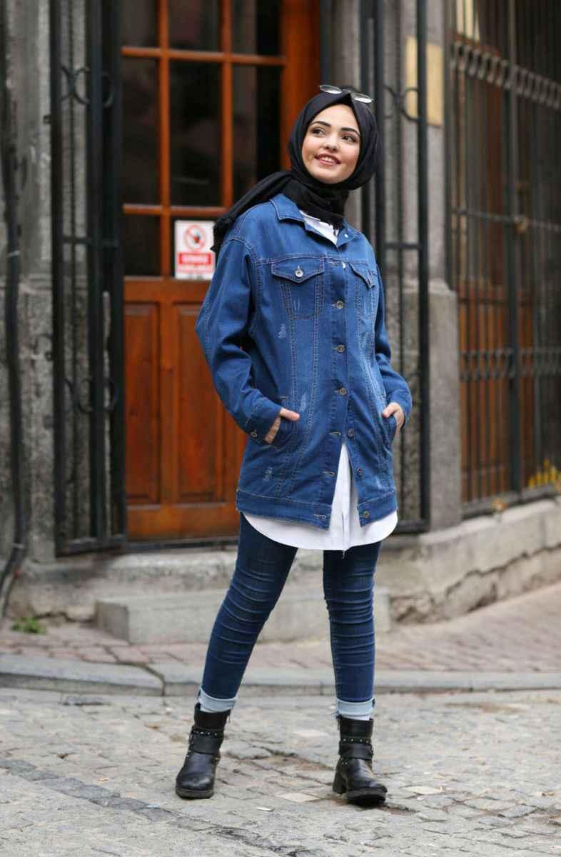 Tesettür Jean Kombinleri Moda Tesettür Giyim
