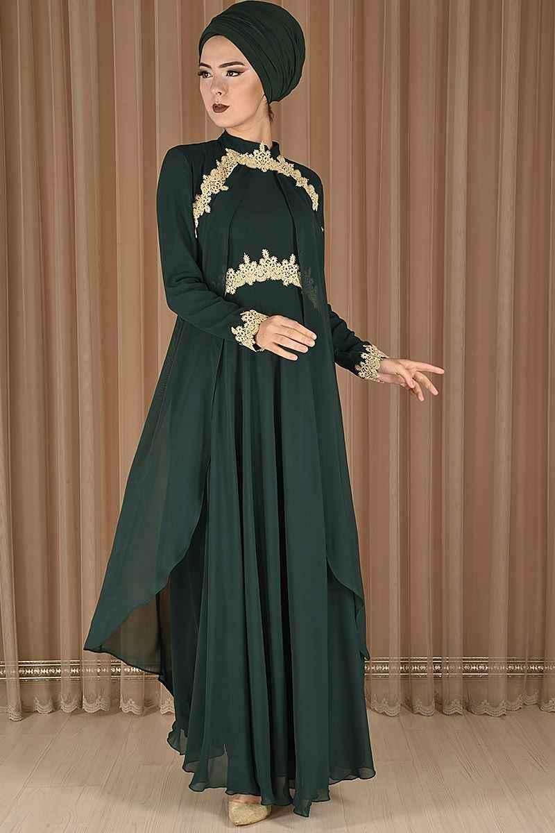 En Şık Modamerve Tesettür Abiye Elbise Modelleri