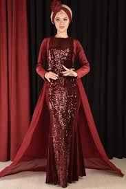 En Güzel Modamerve Tesettür Abiye Elbise Modelleri