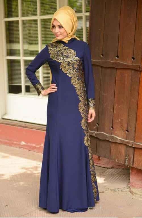 En Güzel Sefamerve Tesettür Abiye Elbise Modelleri