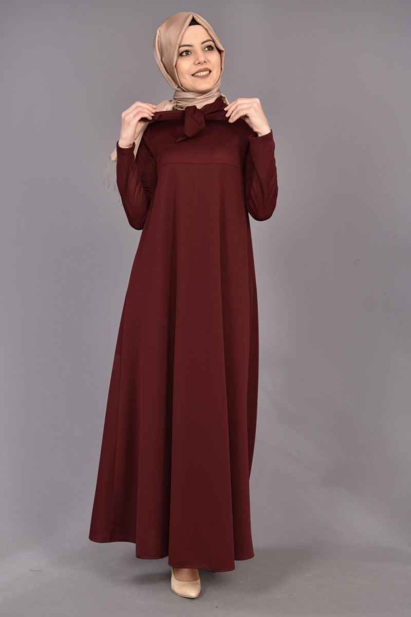 Modamerve Tesettür Salaş Elbise Modelleri