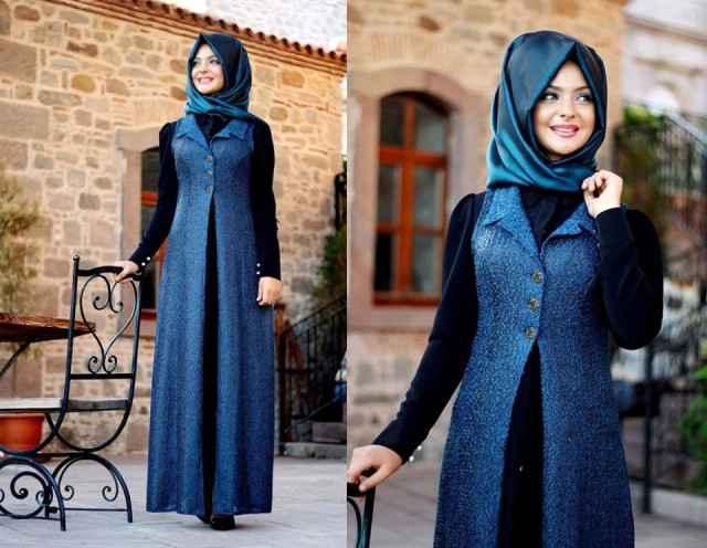 Pınar Şems Kışlık Eşarp Kombinleri