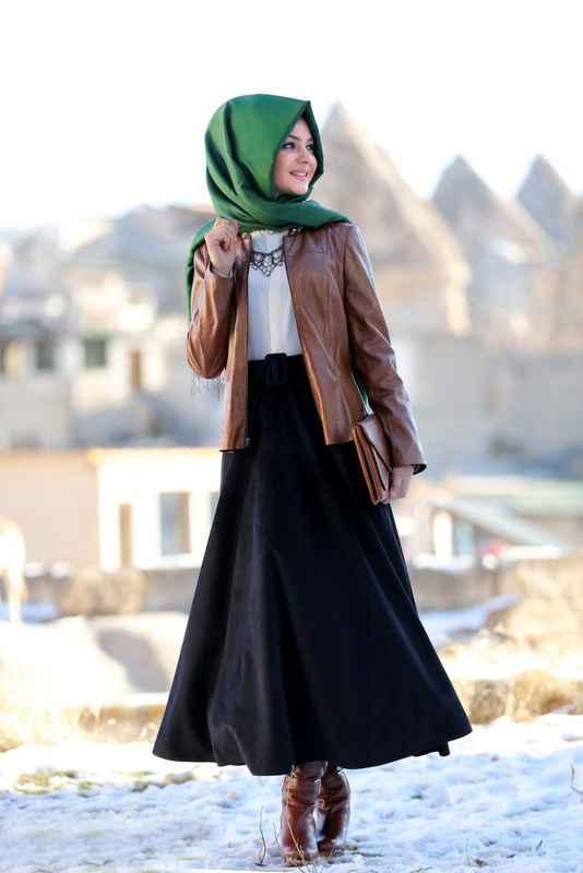 Pınar Şems Kışlık Etek Kombinleri