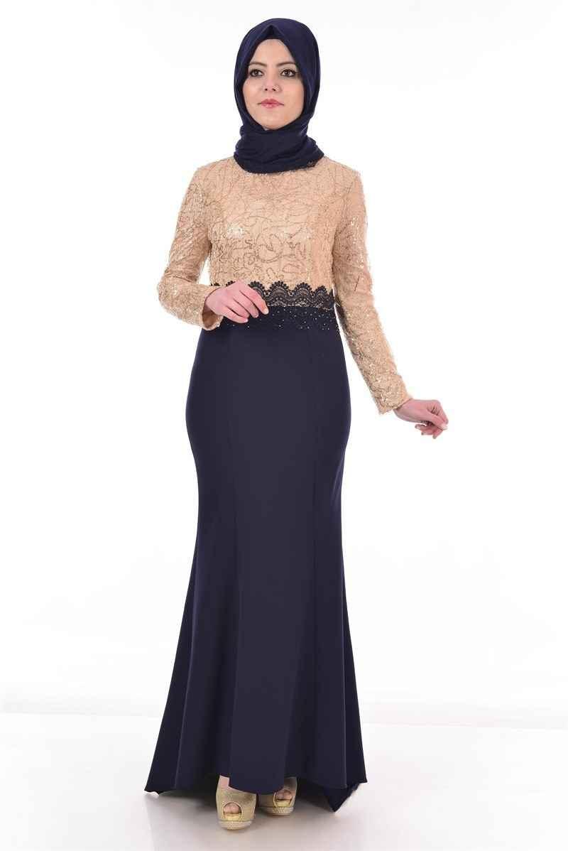 Pul Payet Modamerve Tesettür Abiye Elbise Modelleri