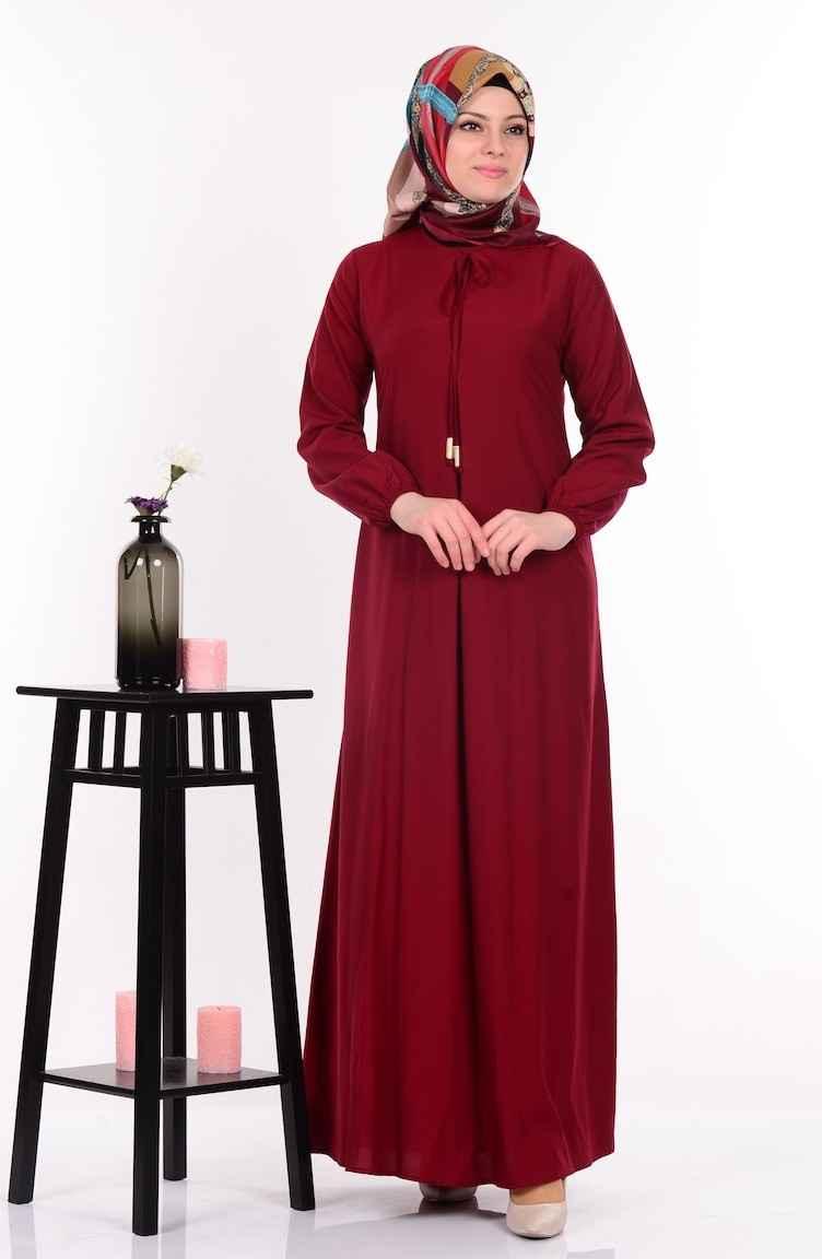 Sefamerve Şık Tesettür Salaş Elbise Modelleri
