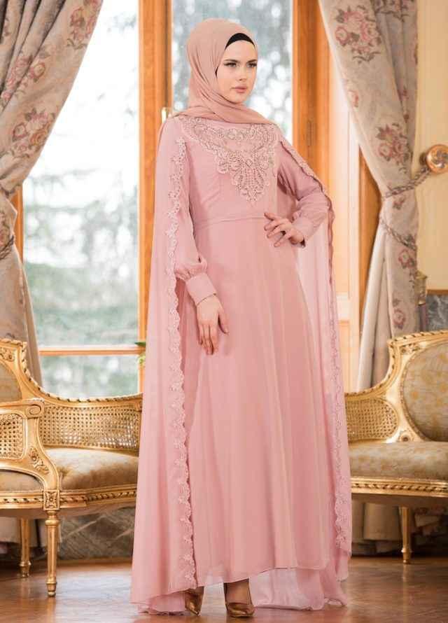Sefamerve 2018 Tesettür Abiye Elbise Modelleri
