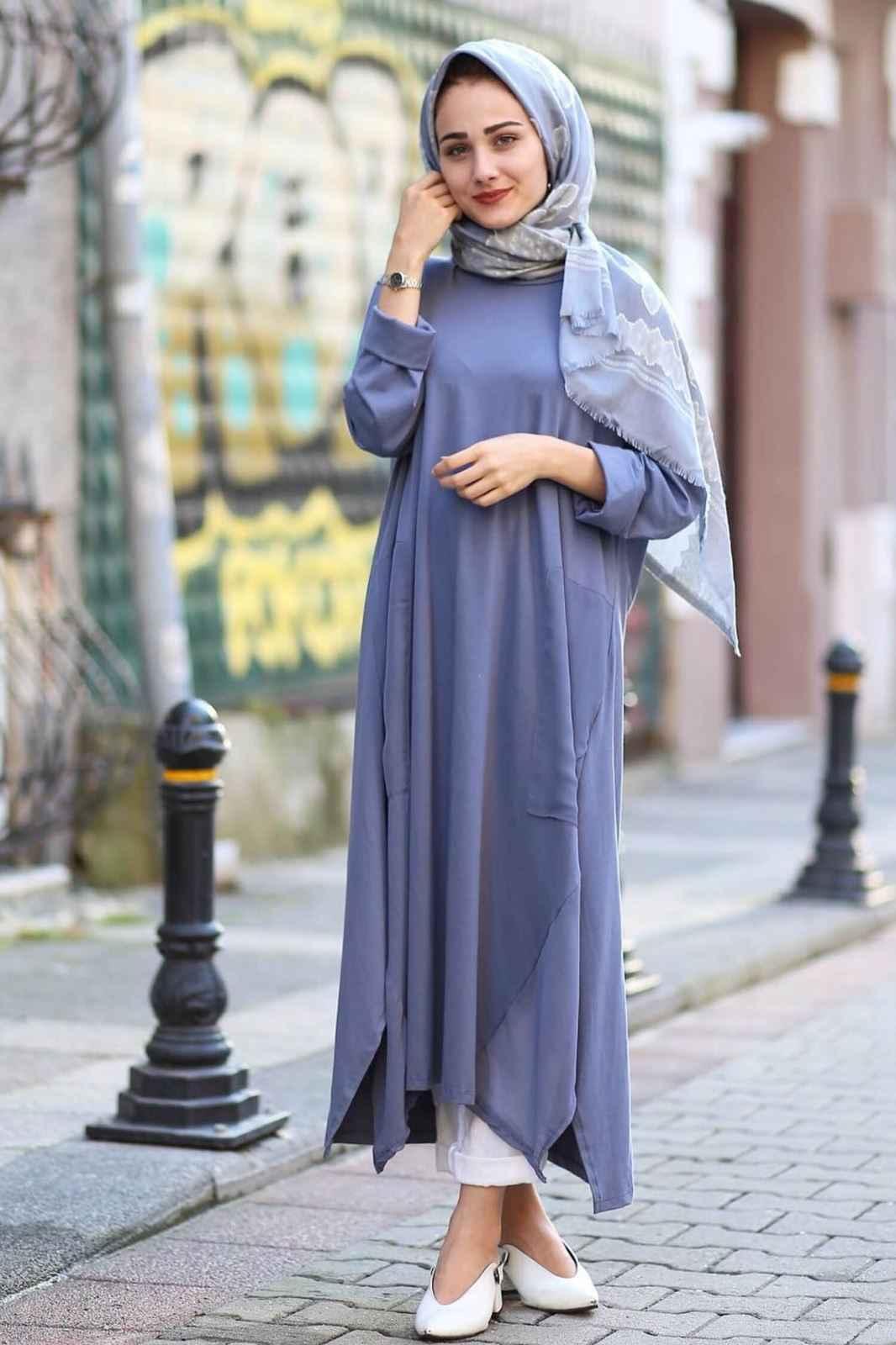 Tesettür Salaş Elbise Modelleri