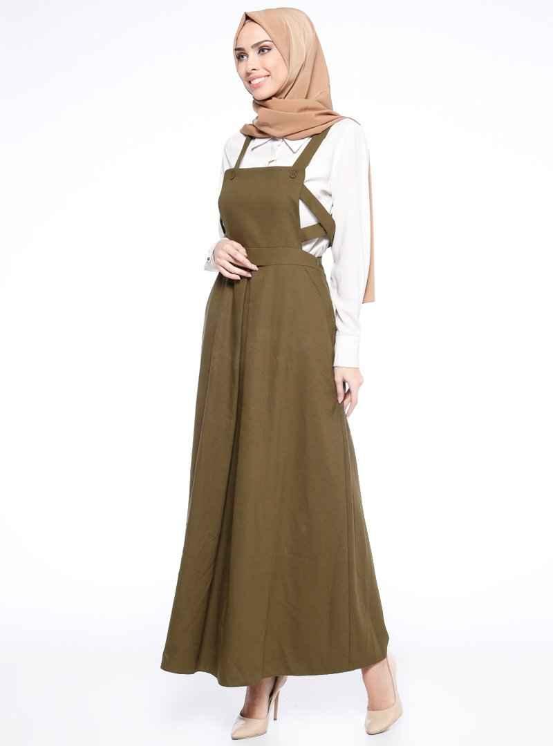 Tuğba Askılı Elbise Modelleri