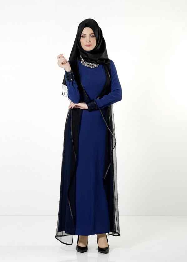 Şık ve Modern Alvina Tesettür Elbise Modelleri
