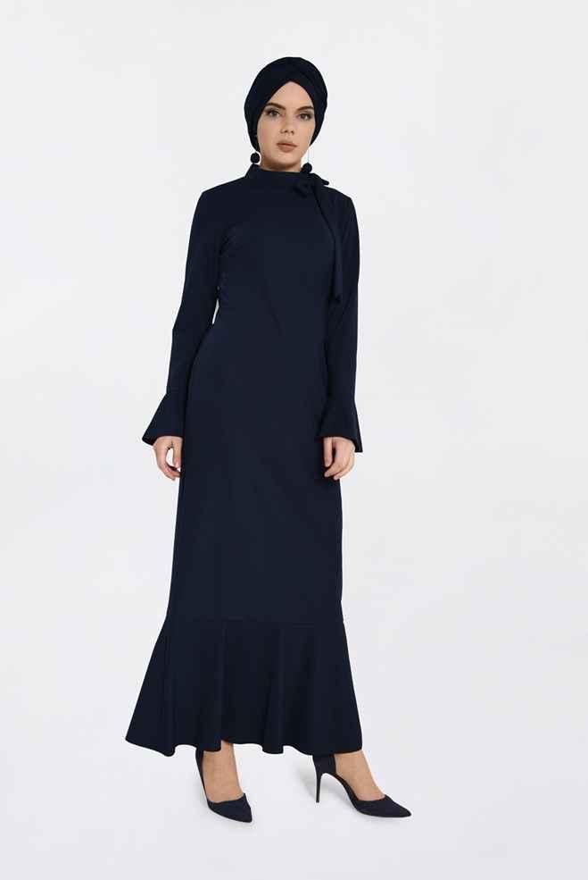 Alvina Tesettür Şık Elbise Modelleri
