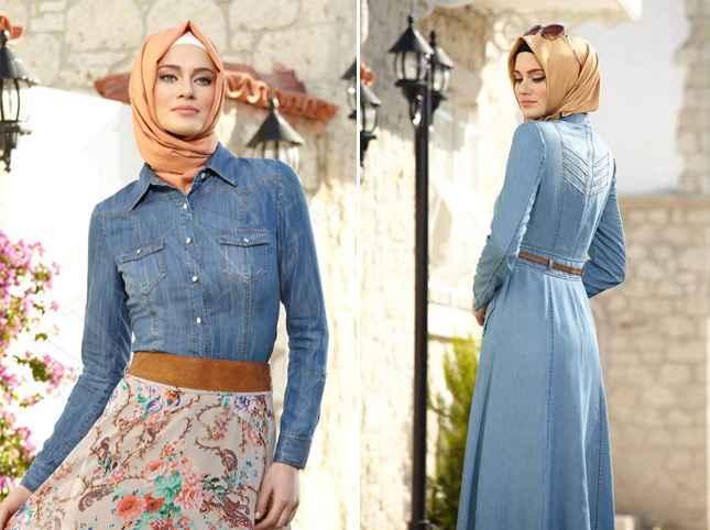 0401d46100b1d Alvina Tesettür Elbise Modelleri   Moda Tesettür Giyim