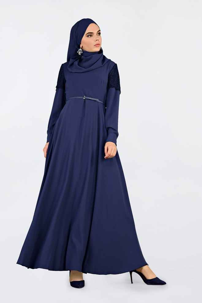 Alvina Tesettür Virona Elbise Modelleri