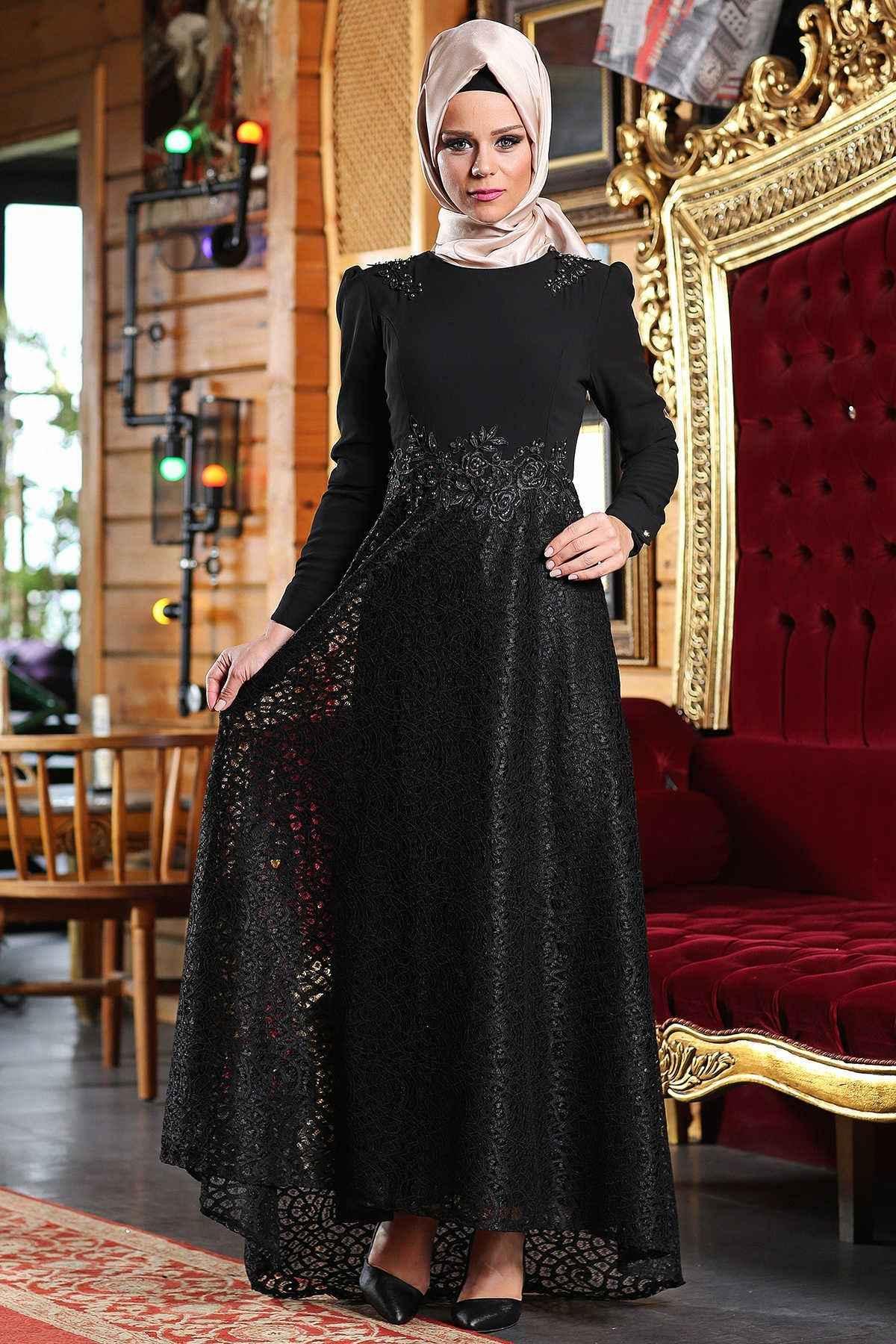 884509880d477 Tesettür Gelin Annesi Elbise Modelleri | Moda Tesettür Giyim