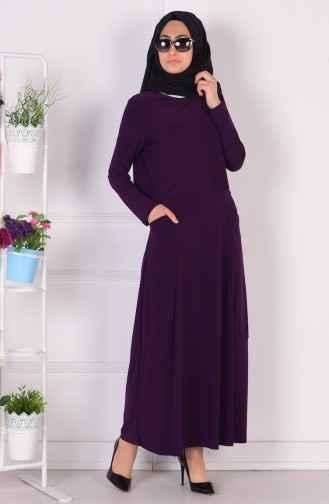 Sefamerve Tesettür Sandy Elbise Modelleri