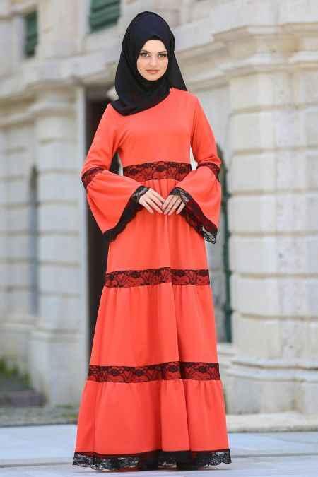 2018-2019 Neva Style Tesettür Günlük Elbise Modelleri