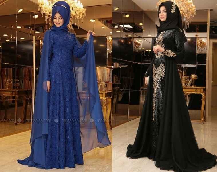 2019 Pınar Şems Tesettür Abiye Modelleri
