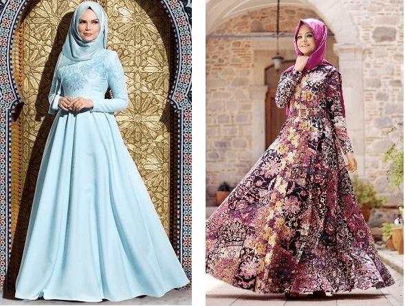 2019 Tesettür Elbise Modası