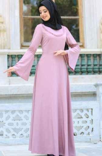 2019 Tesettür Günlük Şık Elbise Modası