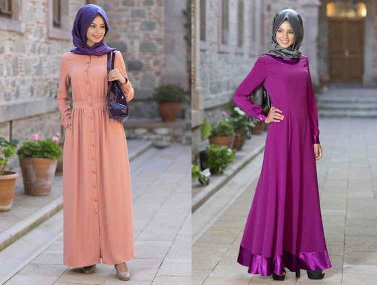 2019 Tesettür Günlük Elbise Modası