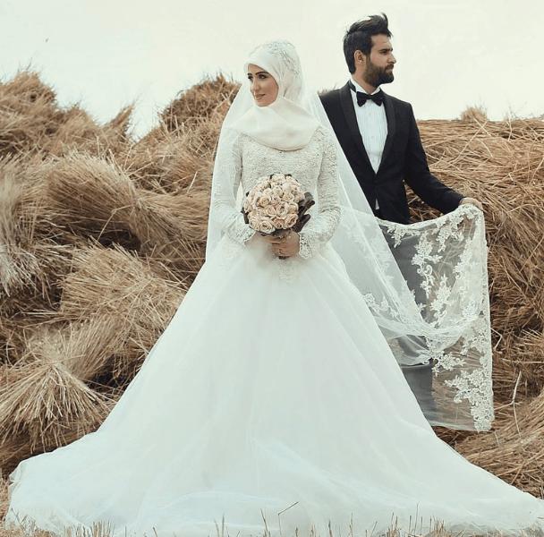 2019 Tesettür Gelinlik Modelleri