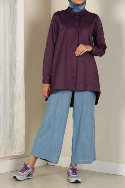 Allday Tesettür Uzun Gömlek Modelleri