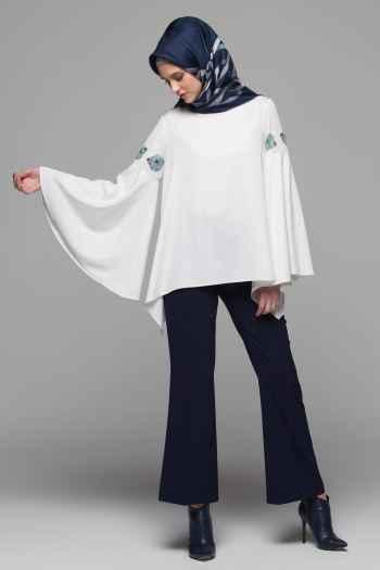 Armine Volan Kol Bluz Modelleri