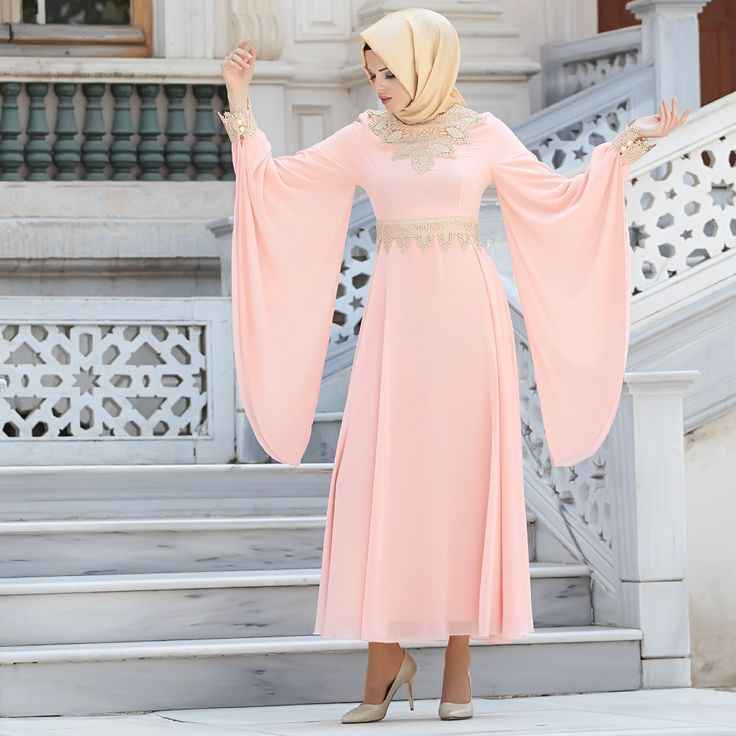 En Şık Nayla Collection Tesettür Elbise Modelleri