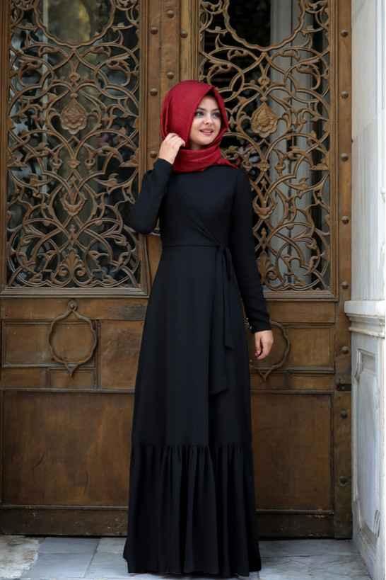 En Şık Pınar Şems Tesettür Elbise Modelleri