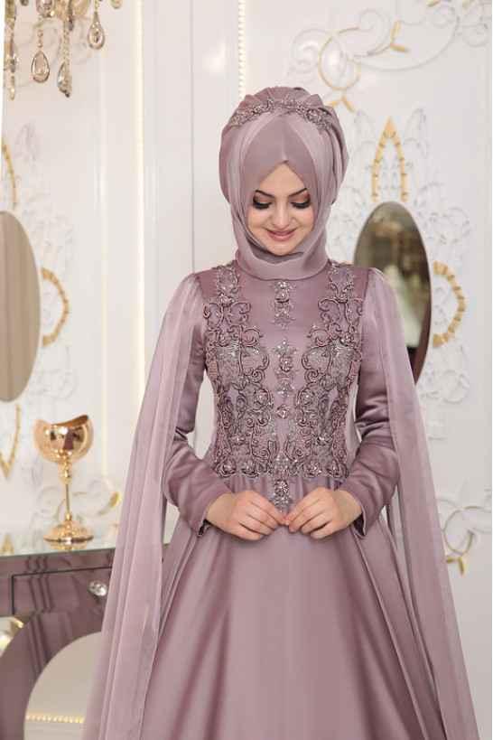 En Şık ve Güzel Pınar Şems Tesettür Abiye Modelleri